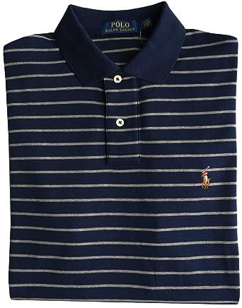 Ralph Lauren Camisa de Polo Talla XL, Polo Flequillo, Francés Nav ...