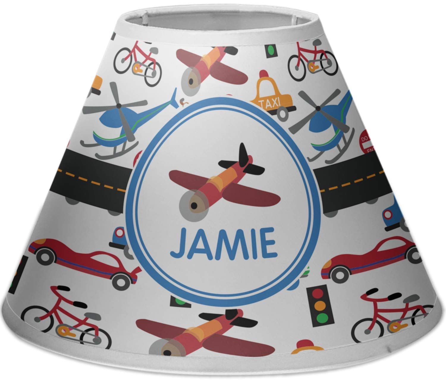 RNK Shops Transportation Empire Lamp Shade (Personalized) by RNK Shops