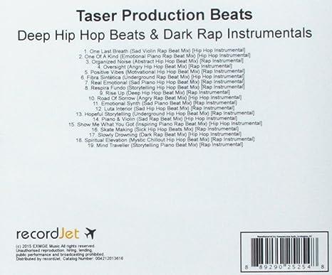 Taser Production Beats - Deep Hip Hop Beats & Dark Rap Instrumentals