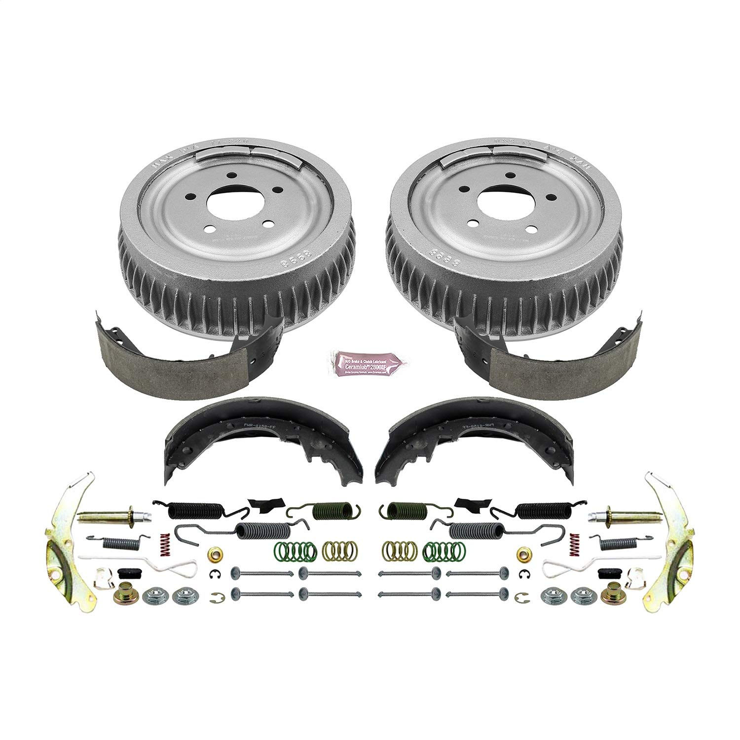 Power Stop Rear KOE15286DK Daily Driver Drum and Shoe Kits