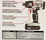 """Porter Cable 20v Max Lithium Ion 1/4"""" Hex Impact"""