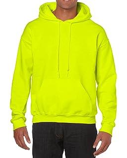 920369641c1 Gildan Men s Heavy Blend Fleece Hooded Sweatshirt G18500 at Amazon ...
