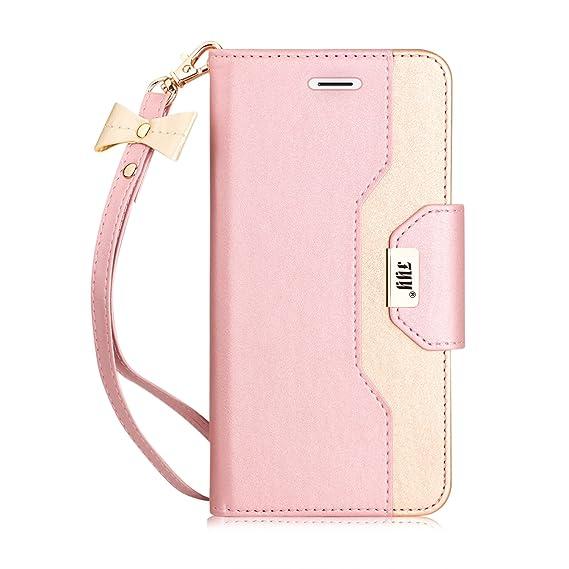 iphone 8 case wallet mirror