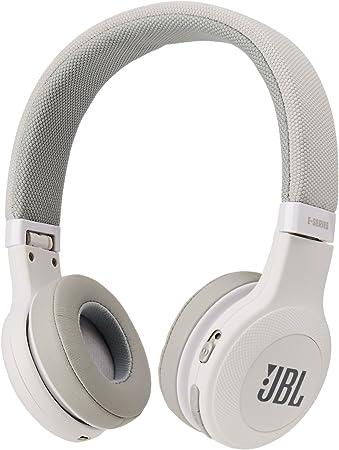 Amazon Com Jbl E45bt On Ear Wireless Headphones White Electronics
