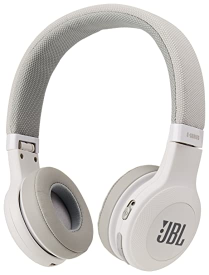320a57a3dc9 Amazon.com: JBL E45BT On-Ear Wireless Headphones (White): Electronics