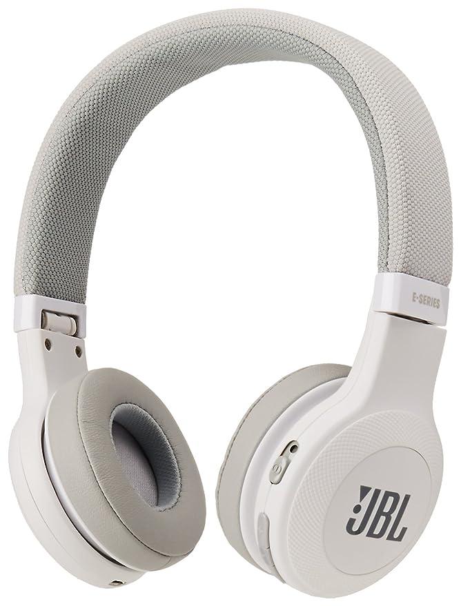 JBL E45BT On-Ear Wireless Headphones (White) at amazon