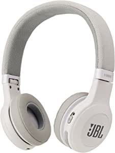 JBL E45BT On-Ear Wireless Headphones (White)