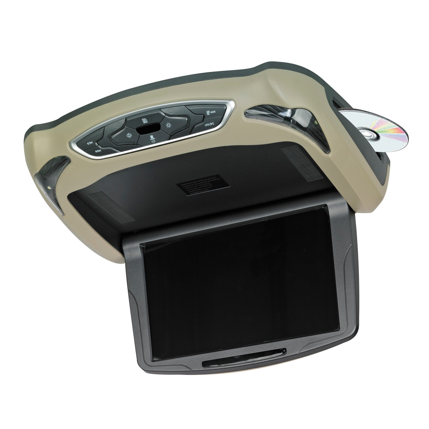 Vission AM-RDI10 10.1'' High Definition LED Overhead DVD/USB/SD Rear-Seat Entertainment System