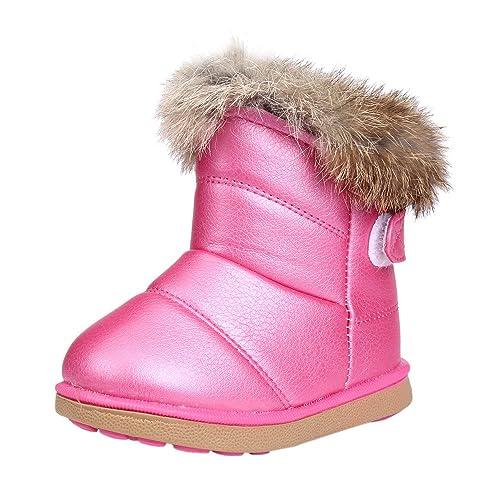 Zapatos Bebe Invierno, zolimx Botines de Bebé Niña Niño Botas de Nieve Calzado Recién Nacido Cálido para 0-3 Años: Amazon.es: Zapatos y complementos