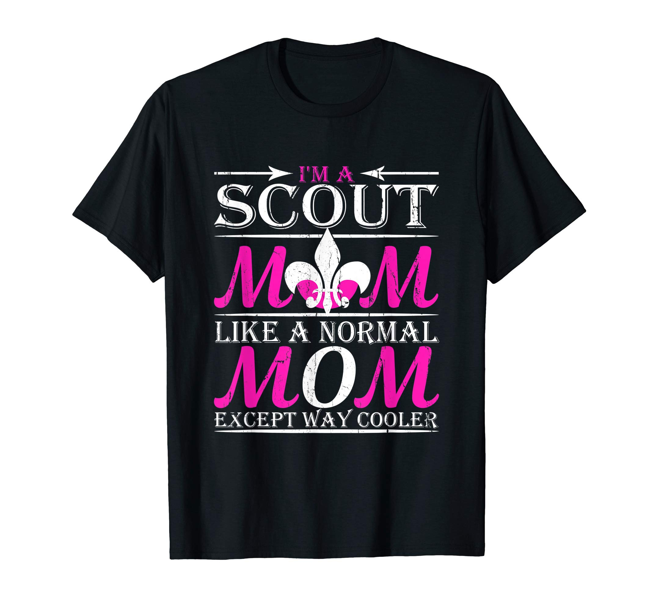 Scout Mom Cub Outdoors Boy Troop Leader Scouting Women Gift T-Shirt by Scouting Designs By Ark