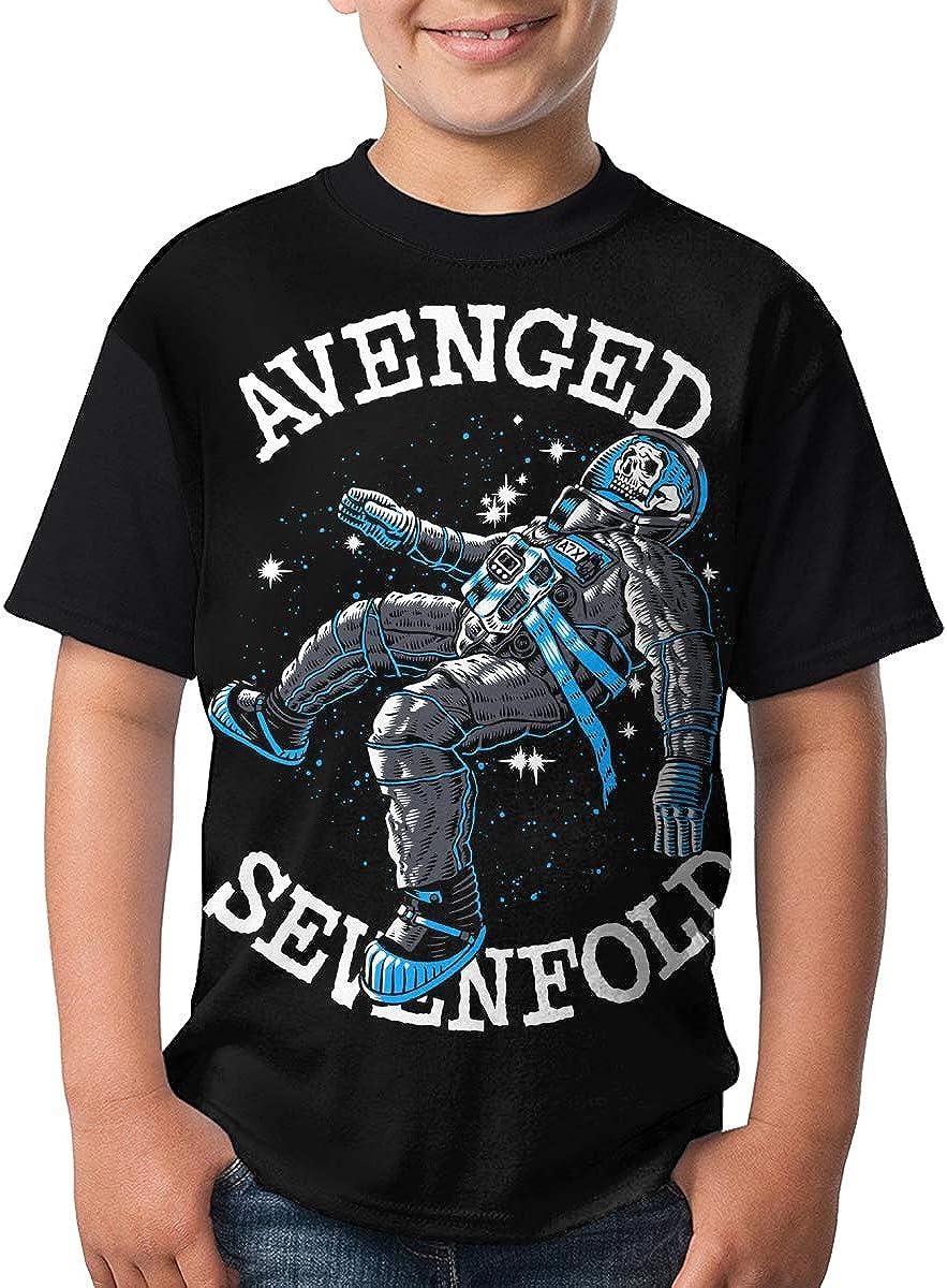 Deborah E Freeman Avenged Sevenfold T Shirts Youth Round Neck Shirt Teenager Boys Personality Tees