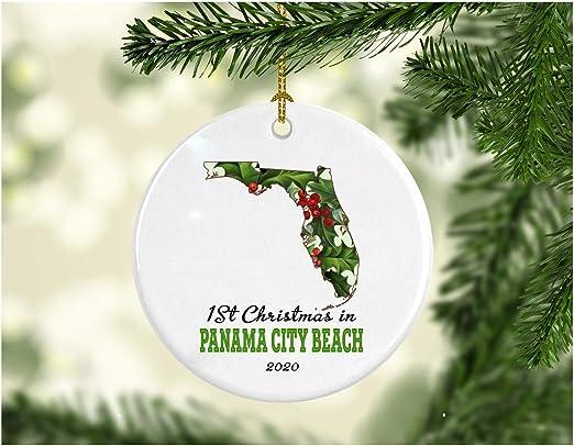 Christmas Beach Holidays 2020 Amazon.com: Christmas Holiday 2020 Ornament Collectible First 1st