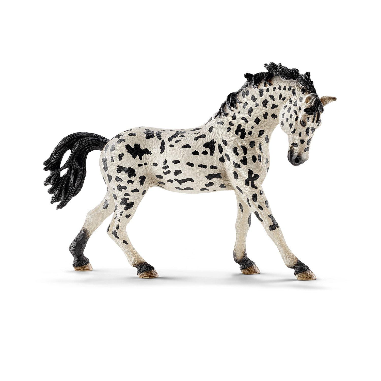 Schleich - Figura yegua Knabstrupper (13769) cabalgar caballeriza caballo caballos