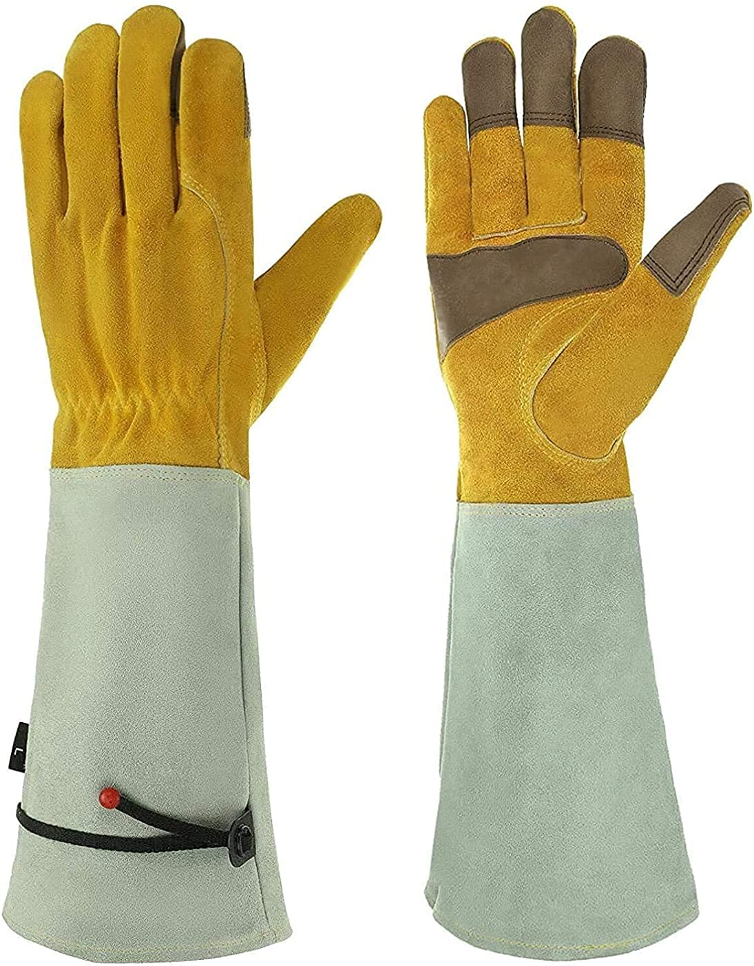 Gardening Gloves for Men & Women, EIVOTOR Long Thorn Proof Garden Gloves
