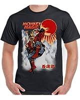 Monkey Magic - Mens Funny T-Shirt
