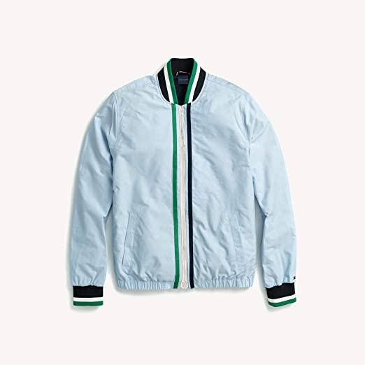 c6bff7742 Tommy Hilfiger Men's Adaptive Tennis Bomber Jacket with Magnetic ...