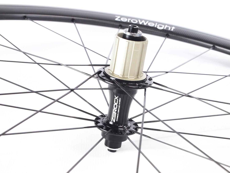 ZeroCx - Par de Ruedas de Carbono para carretera - Perfil 38mm Cubierta - Modelo Zero Weight - Campagnolo 10/11v: Amazon.es: Deportes y aire libre