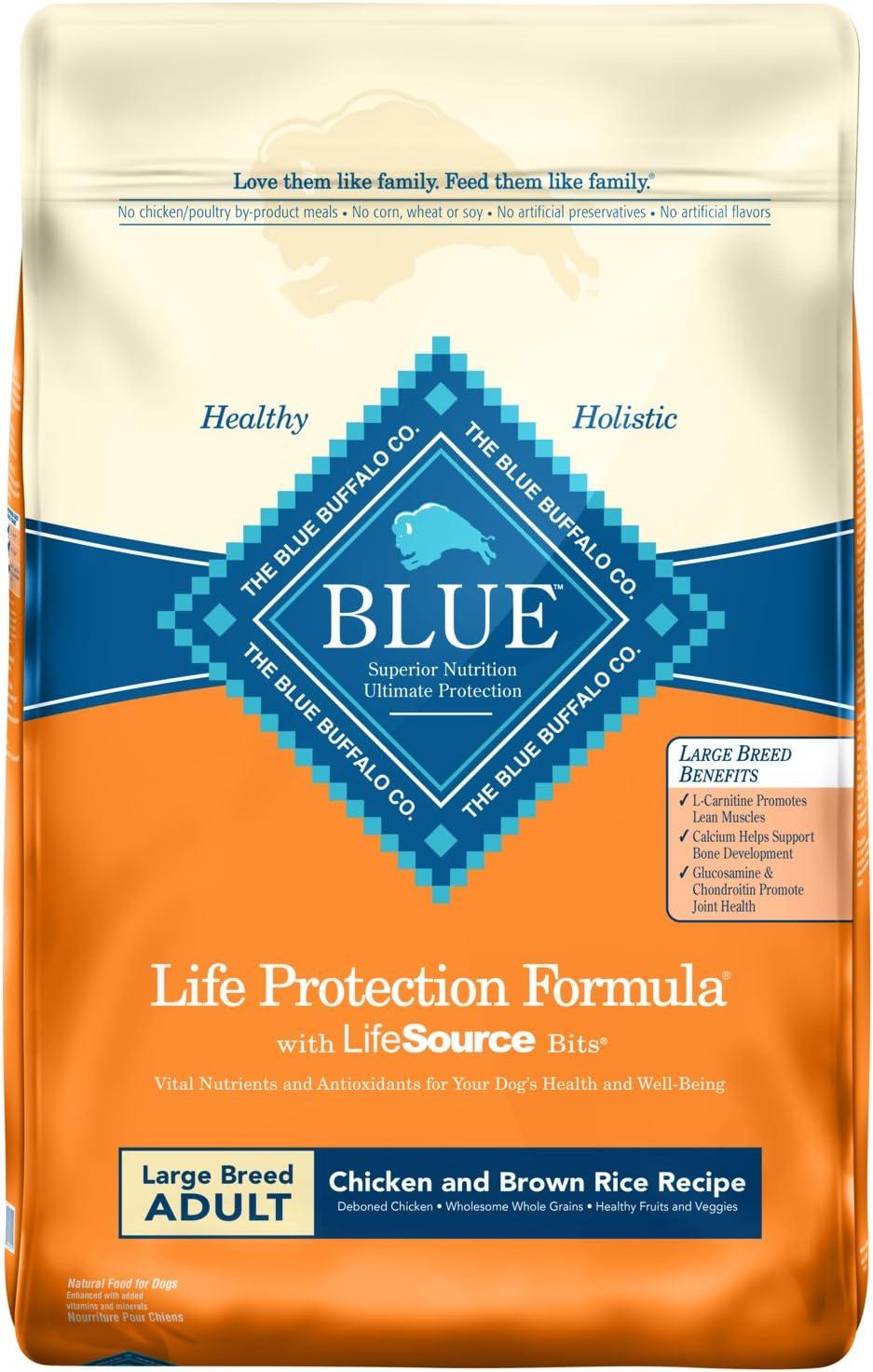 9. Blue Buffalo Life Protection Formula Large Breed