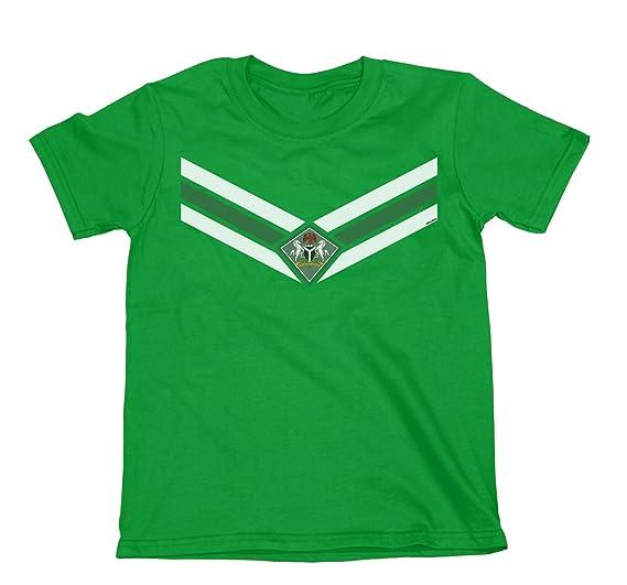 Kids Nigeria Team Emblem Niños O Niñas Fútbol Camiseta Copa Mundial 2018 Retro Sports