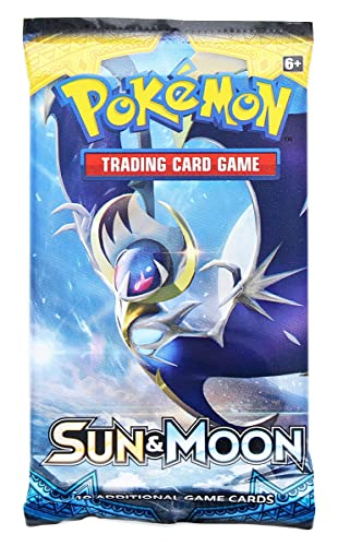 Pokemon Trading Card Game-Sun and Moon Booster Pack