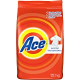 Ace Detergente en Polvo Aroma Regular, 1 kg