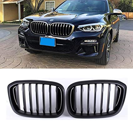 Amazon Com Fandixin G01 Grilles Abs Front Kidney Grill For Bmw X3