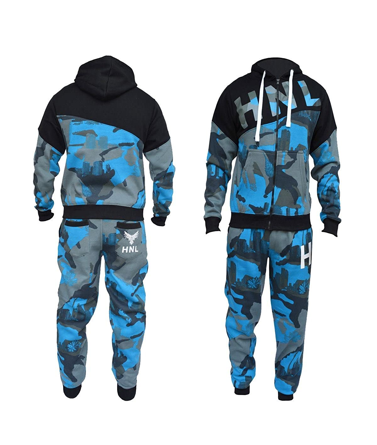 New Mens Boys Designer Zipped Top Bottoms Jogging Suits Tracksuits S ...