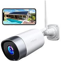 Mibao Cámara de Vigilancia WiFi Exterior, IP66 a Prueba de Agua y Polvo,Cámara de Seguridad,Visión Nocturna de 20 Metros…