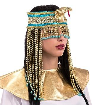 JB00039686 Azeeda Medio Dea Egiziana Scatola dei Gioielli 57mm