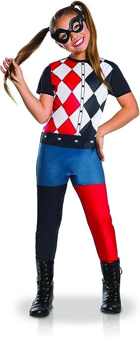 Generique - Disfraz clásico Harley Quinn niña 7 a 8 años (117 a ...