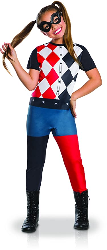Generique Costume Classico Harley Quinn per Bambina 78