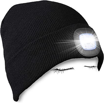 LED Lighted Beanie Hat