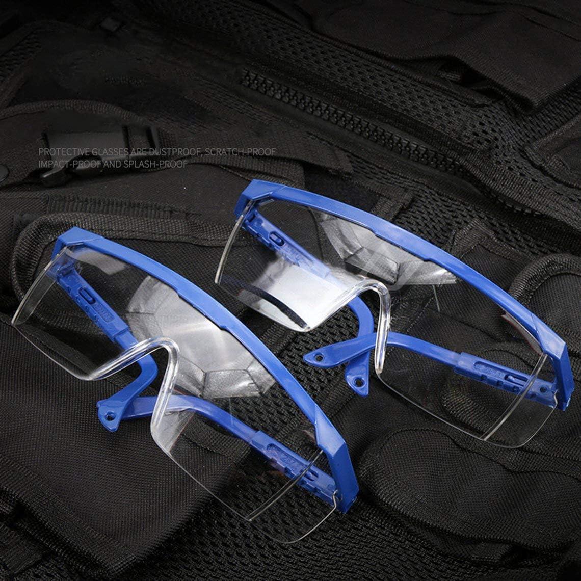 Isolierschutzbrille Isolation Atmungsaktive Anti-Spuck-Schutzbrille Vollst/ändig klare Sicht Sicherheit Anti-Spritzwasser transparent DEjasnyfall