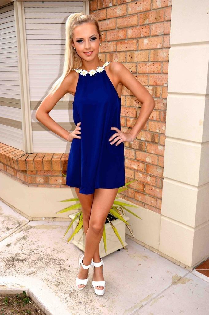 Frauen Kleidung Sexy Sommer-Kleid verspielt Nachtclub LAX