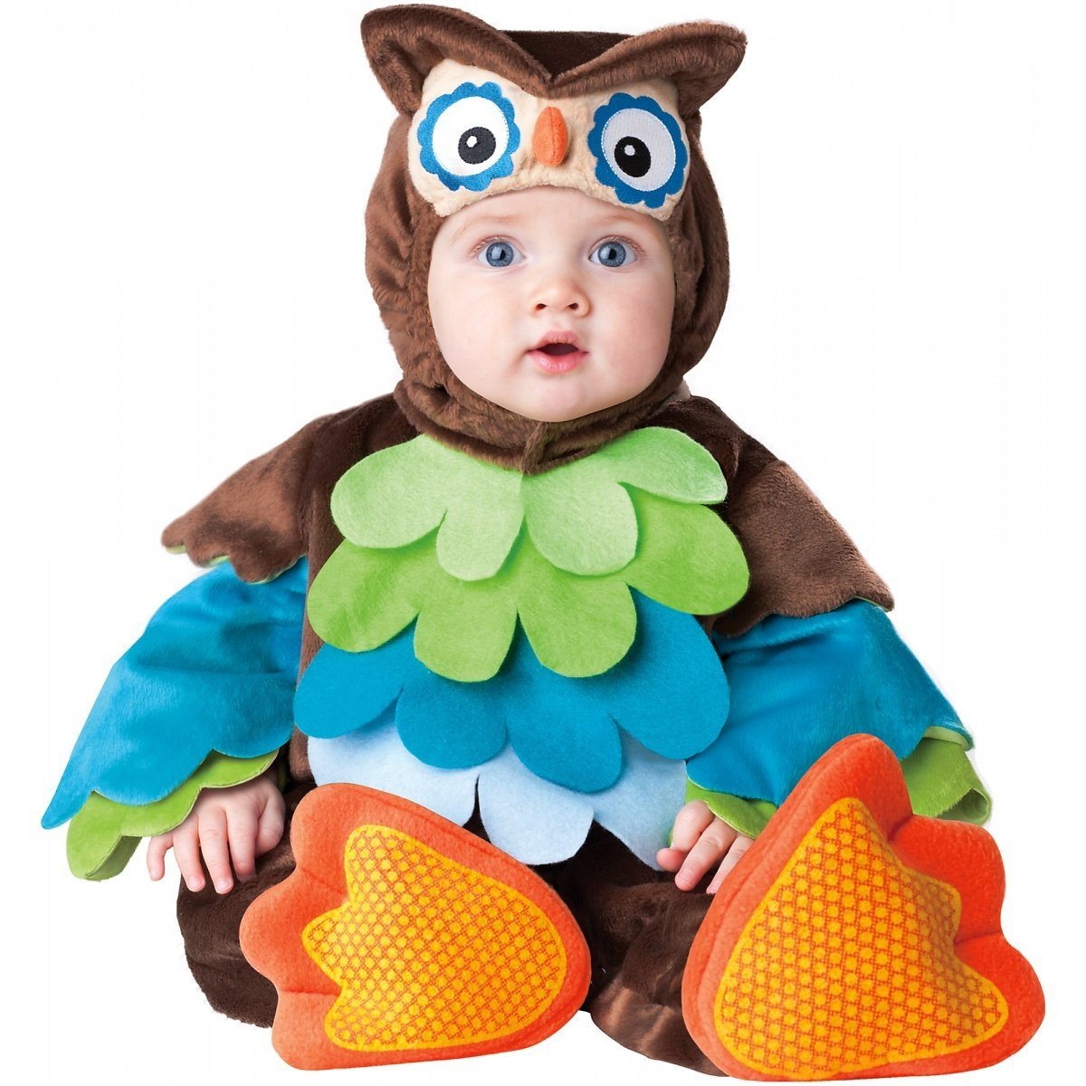 Amazon.com: InCharacter Costumes Baby's What A Hoot Owl Costume ...