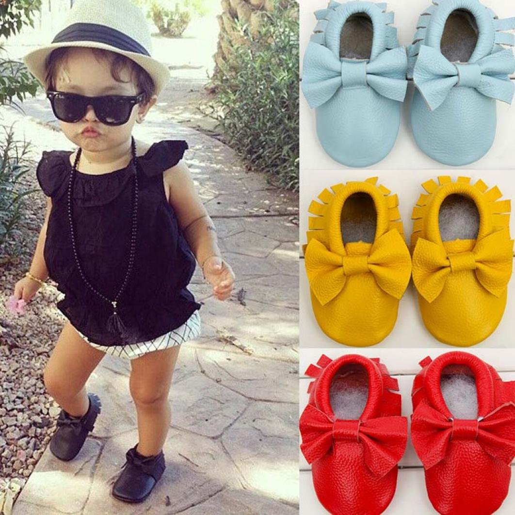 Infant Moccasins Leather Anti-Slip Winter Boots Girl Womail Baby Girl Shoes
