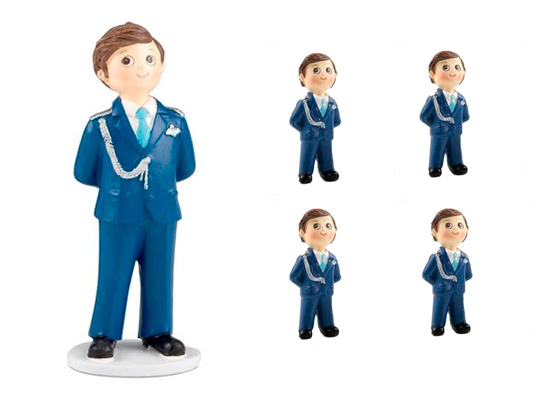 Pack de 12 Imanes niño Comunión y 2 Figuras tarta a juego ...