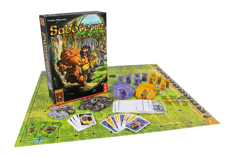 Desconocido 999 Games spel Saboteur: De Verloren Mijnen: Amazon.es ...