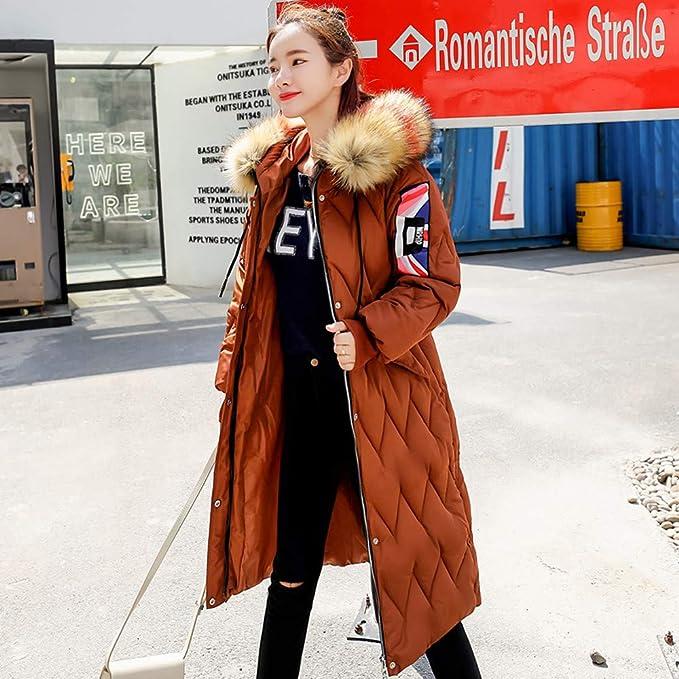 Vovotrade Damen Warm Winterjacke Parka Jacke Mantel Lange
