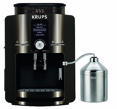 Krups EA 8280, Negro, Cromo, 1450 W, 9600 g - Máquina de