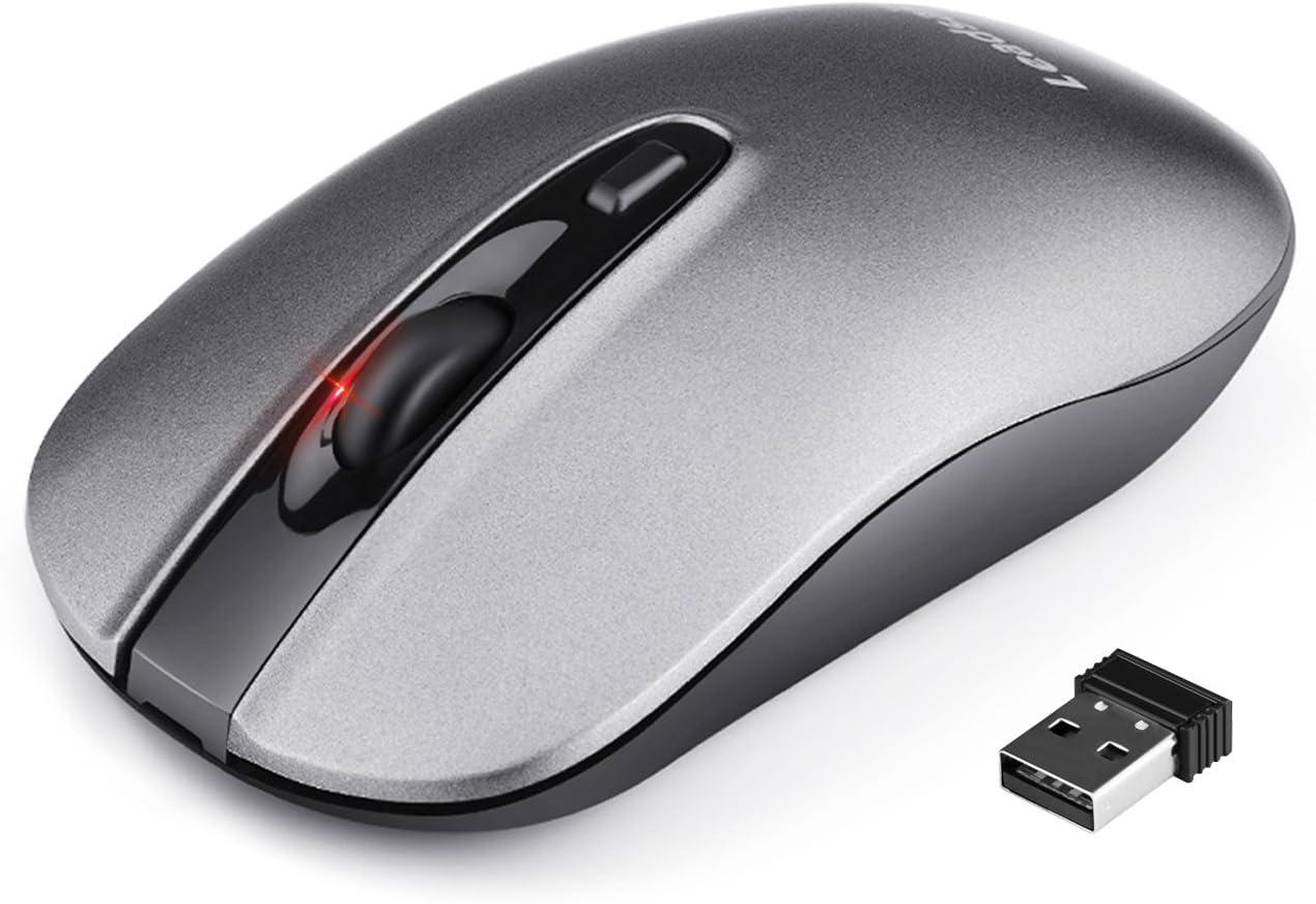 Mouse inalámbrico recargable silecioso-62NW
