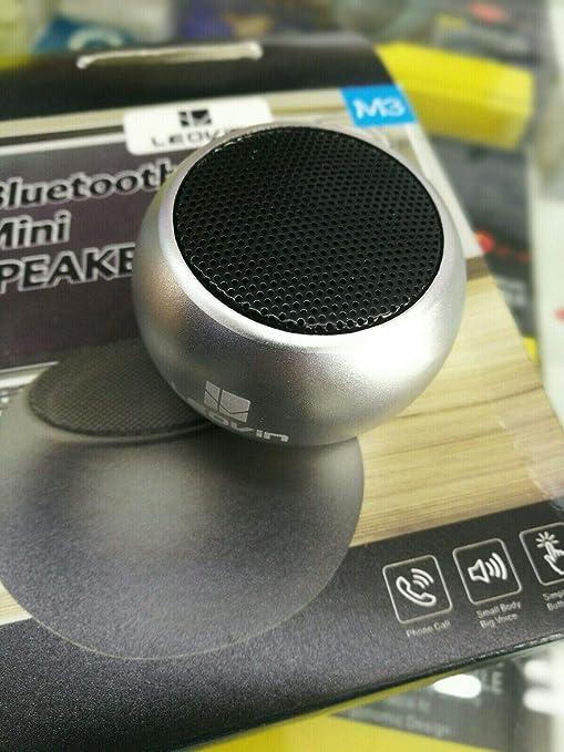 Mini Altavoz MP3 Bluetooth de Metal pequeño y Potente Altavoz ...