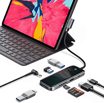 VANMASS 8 in 1 USB C Adapter with 4K HDMI