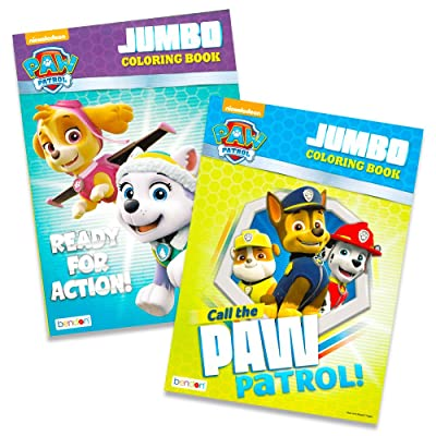 Paw Patrol Coloring Books - 2 Pack: Toys & Games