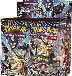 Pokemon JCC - Caja de 36 Sobres de: Sol y Luna: Ultraprisma, Español: Amazon.es: Juguetes y juegos