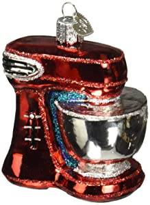 Old World Christmas Glass Blown Ornament Mixer (32270)