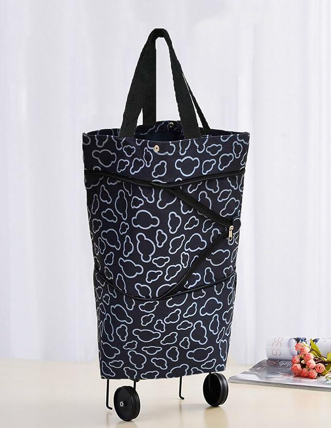 Amazon.com: Cocobuy Bolsa de compras de tela Oxford ...