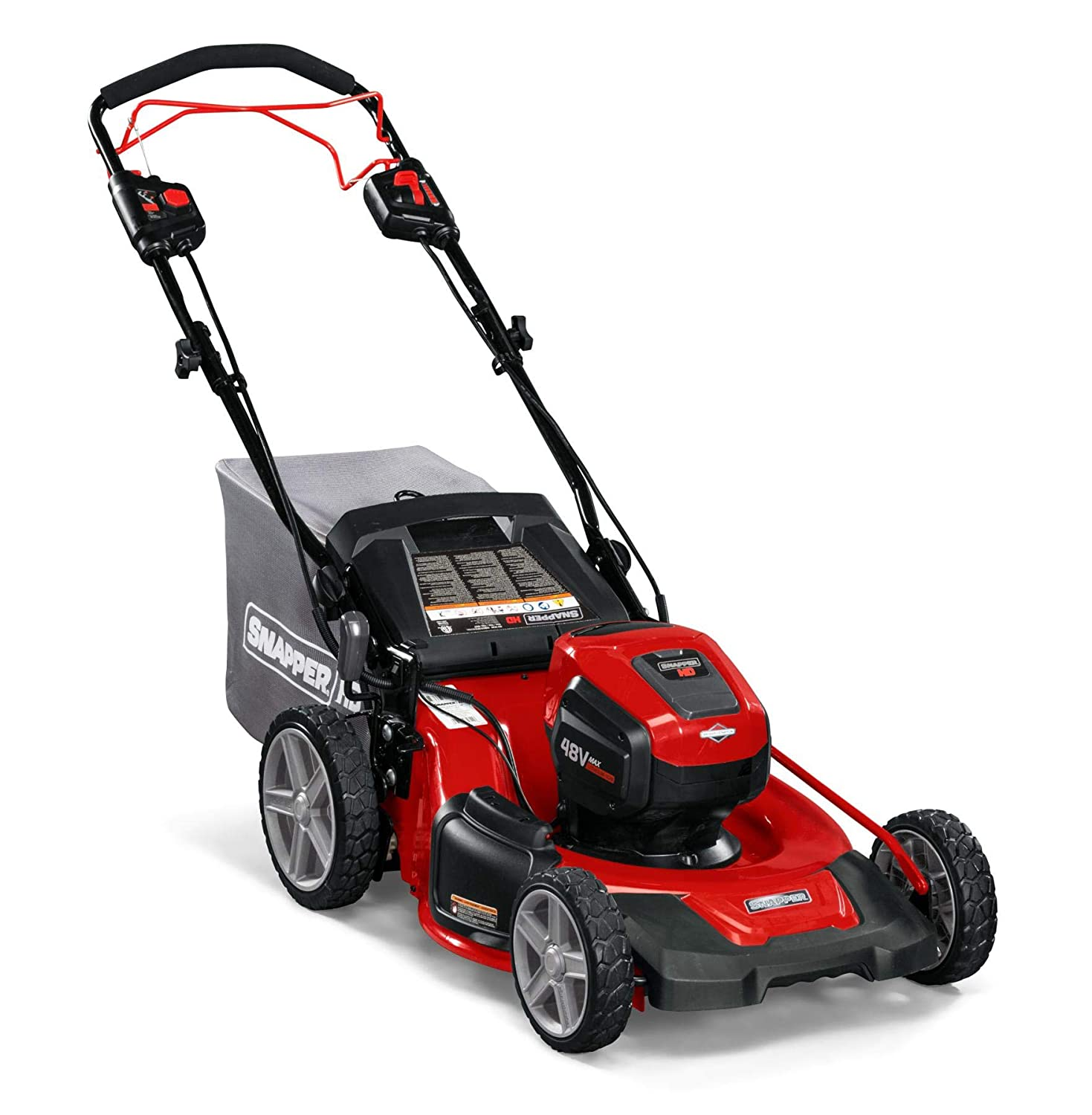 Snapper HD 48V MAX Electric Cordless Self-Propelled Lawnmower without battery and charger, 2691565, 20SPWM48