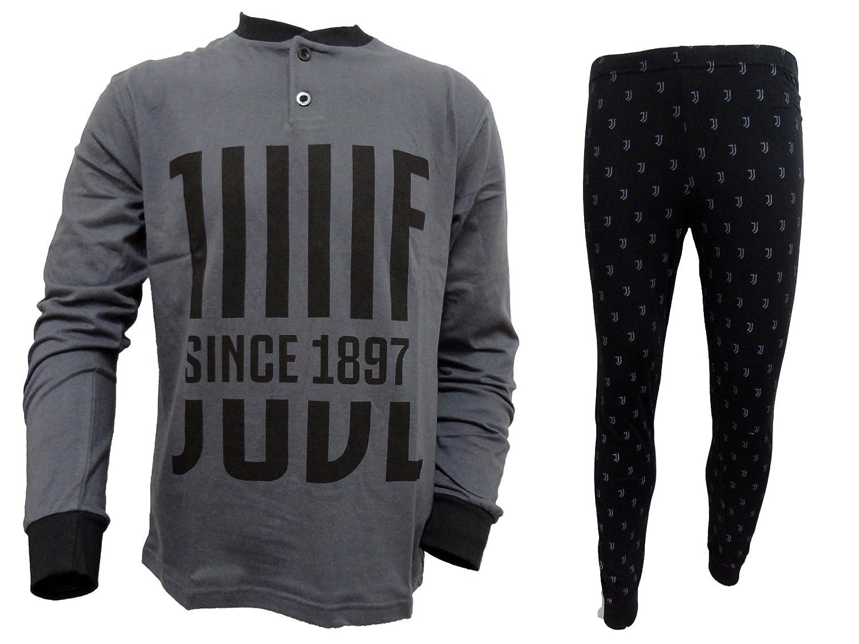pigiama ragazzo lungo in cotone jersey JUVENTUS prodotto ufficiale juve art. JU15065