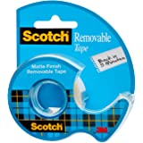Scotch Removable Tape, 3/4 x 650 Inches (224)
